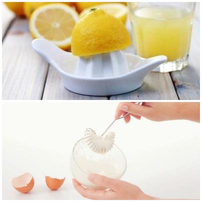 лимон и белок