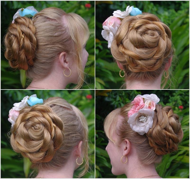 имеет округлую цветок из волос пошаговая инструкция фото когда-нибудь
