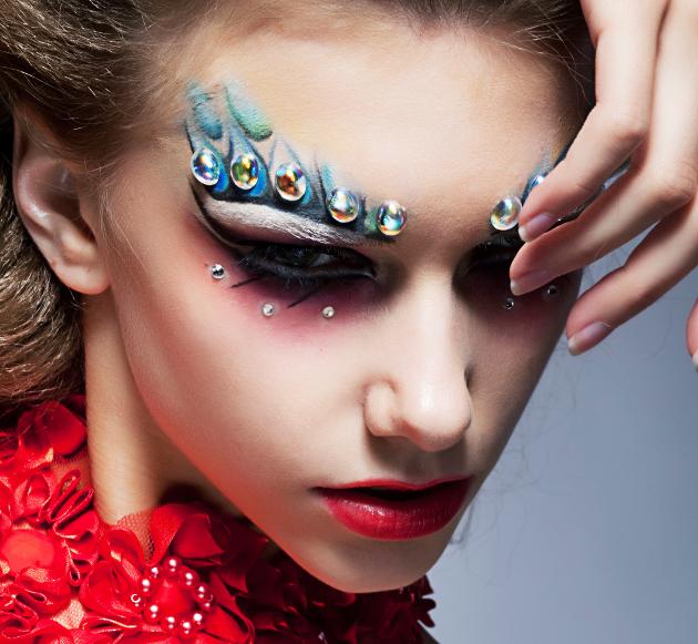 подиумные макияжи фото фото выставке производит