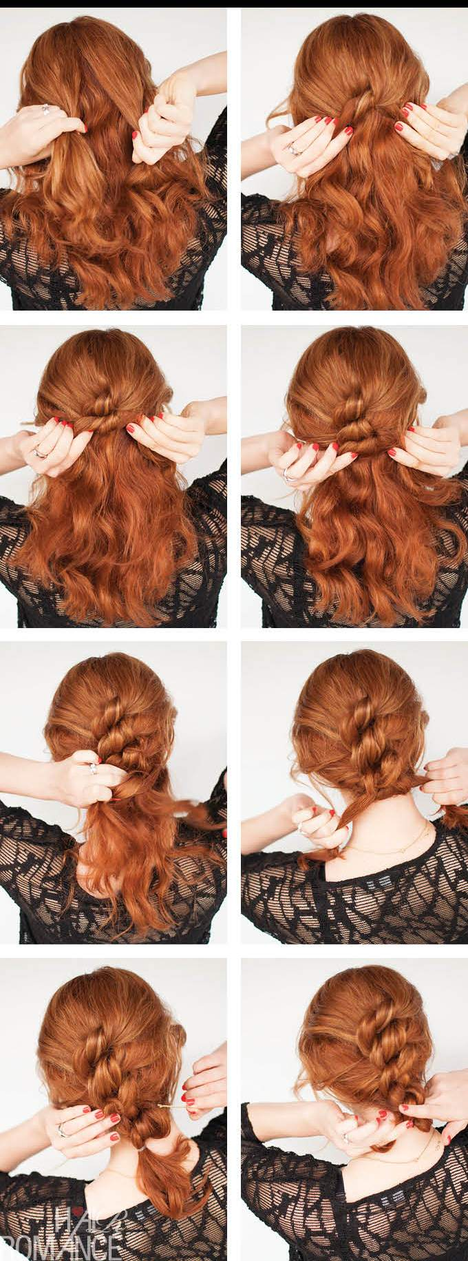 Hair-Romance-Easy-knot-updo-hair-tutorial