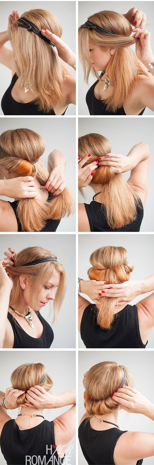 How-to-do-a-rolled-updo-Hairstyle-tutorial