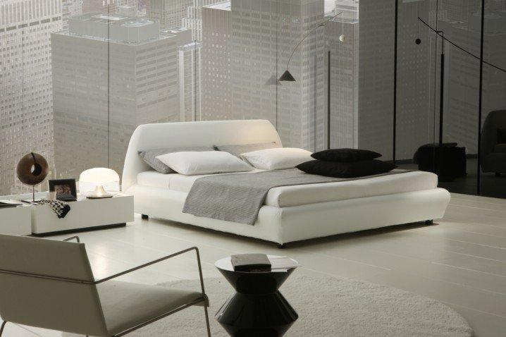 Спальня в минималистическом стиле фото
