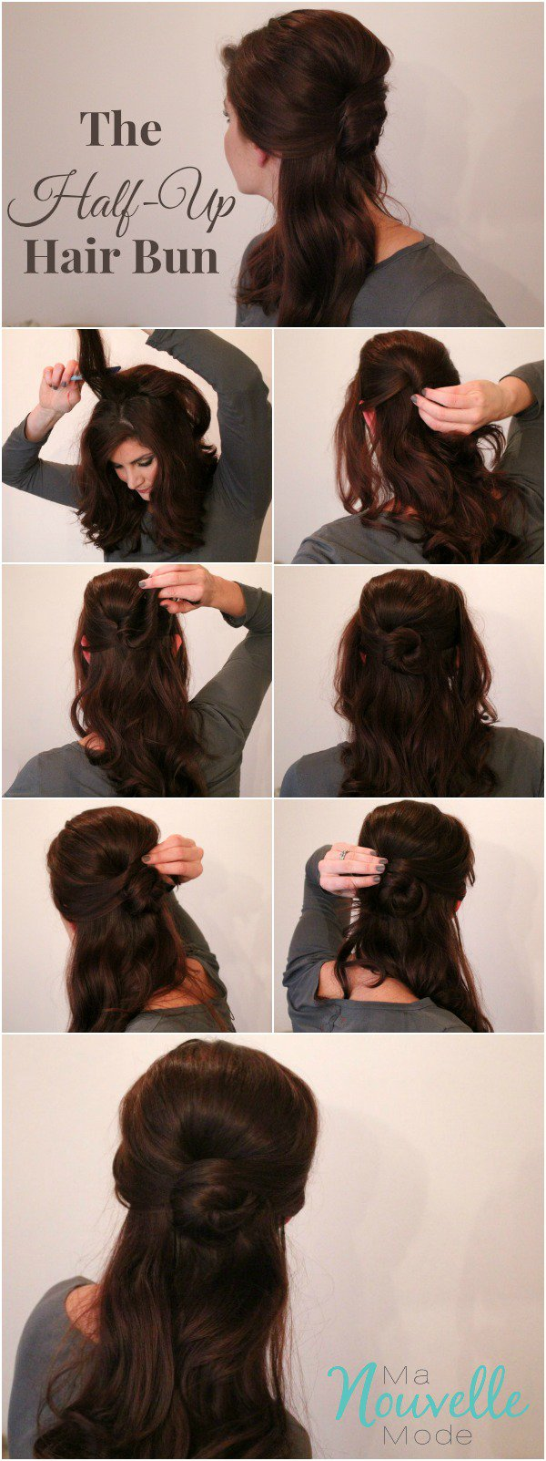 Half-Up-hair-bun