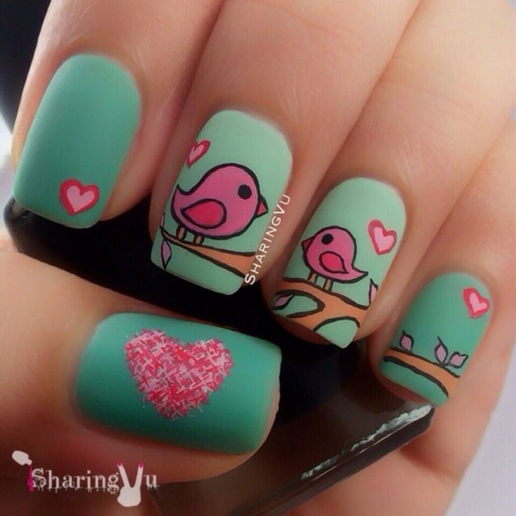 cute-valentine-nail-designs-new-easy-pretty-home-manicure-ideas-4