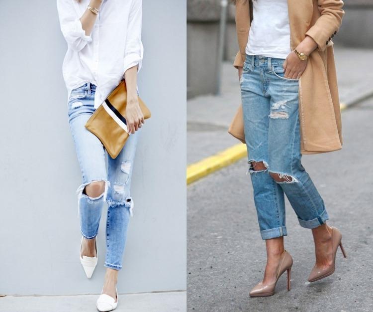 Рваные джинсы фото видео