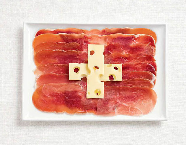 18switzerland-flag-made-from-food