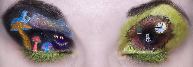 Сказочно необычный макияж глаз