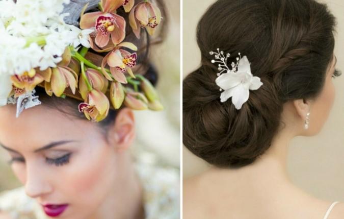 exotische-brautfrisur-orchidee-rose-weiss-haarschmuck