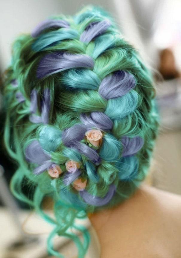 Новый модный тренд окрашивания волос