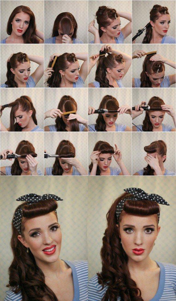 Retro-Hairstyle-Idea-With-Bandanna