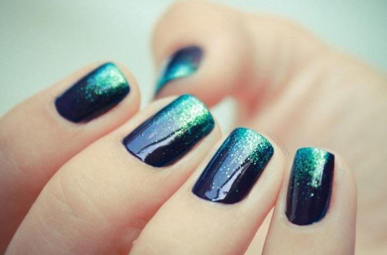 Омбре на ногтях: фото идеи