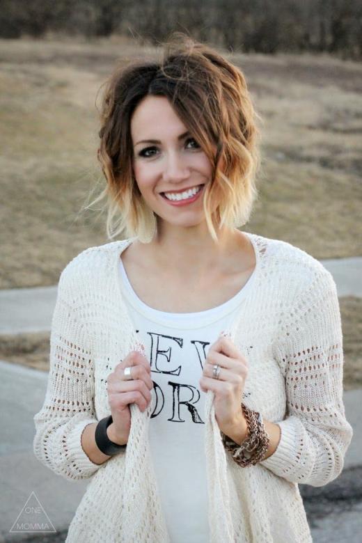 Cute-Short-Ombre-Hair-for-Women