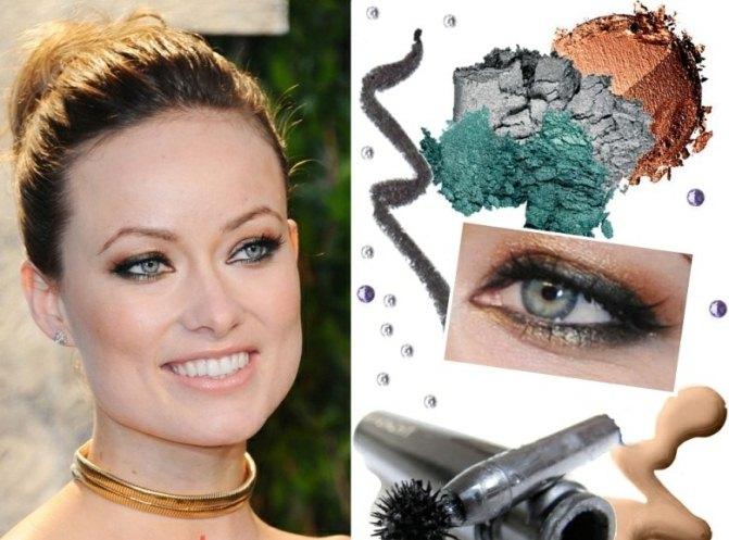 Herbsttyp-Farbpalette-blaugruene-Augen-schminken-Make-up-Tipps