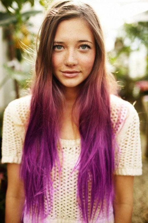 Purple-Ombre-Hair-Color-Idea