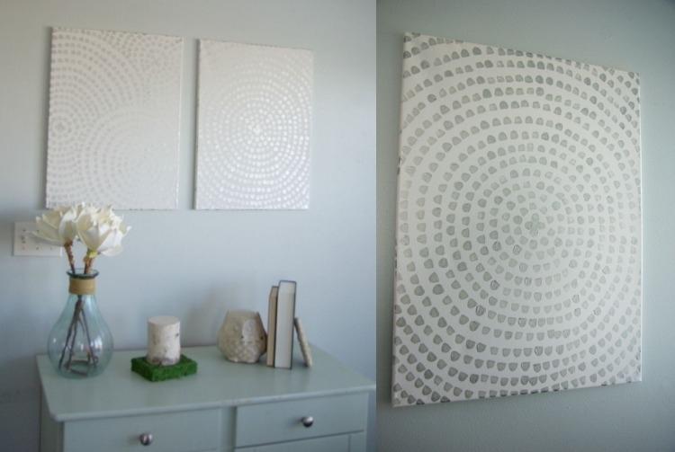 Картины своими руками - художественные украшения стены