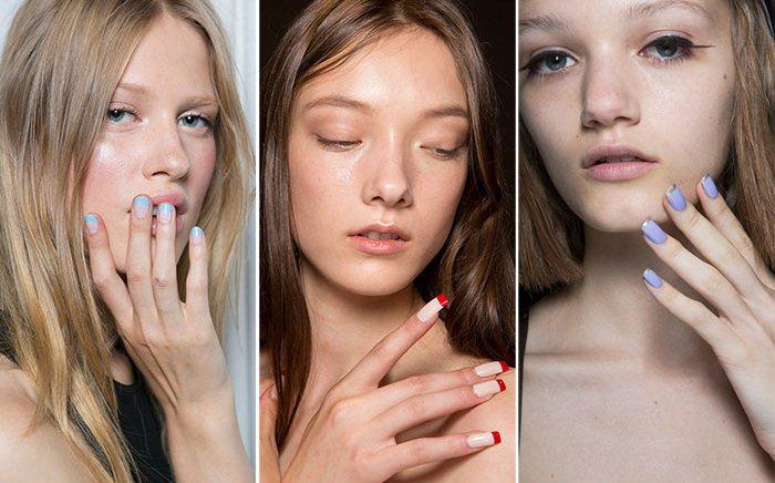 Френч на ногтях фото 2021 новинки | Naemi - красота, стиль, креативные идеи