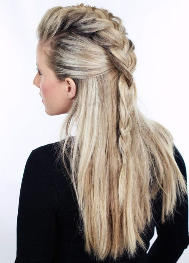 15-half-up-braided-hairstyle-with-a-fauxhawk-braid
