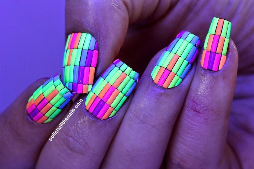 NEON NEON bright rainbow