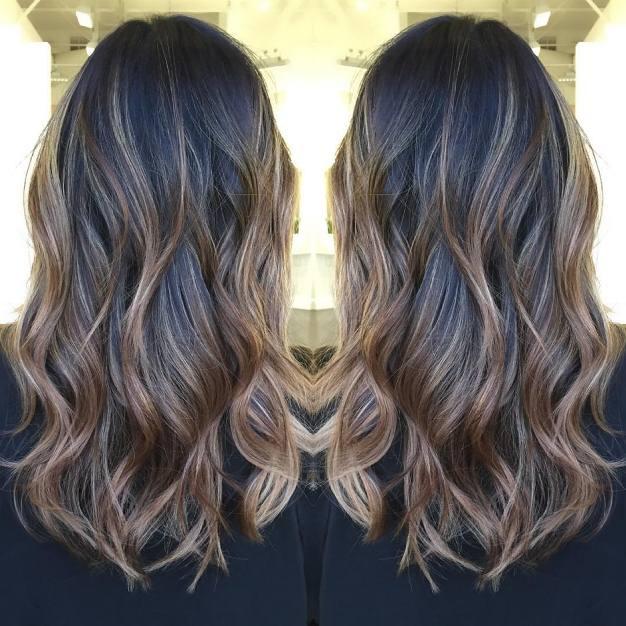 Окрашивание-балаяж-на-темные-волосы-3