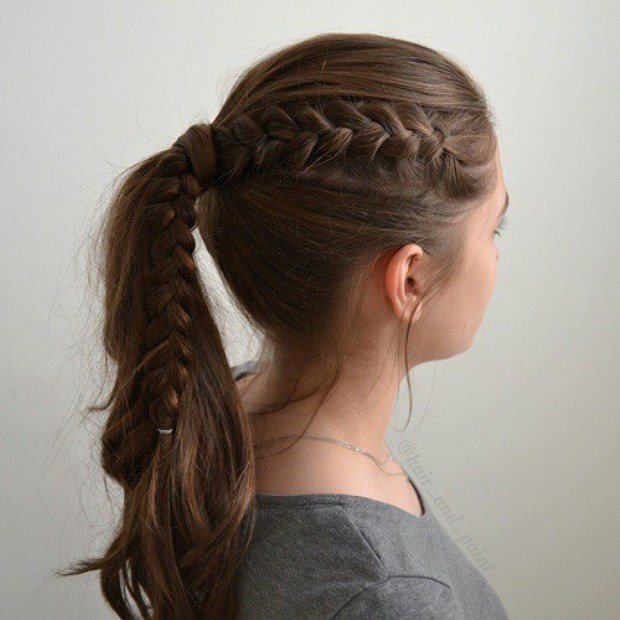 6-ponytail-with-a-side-braid