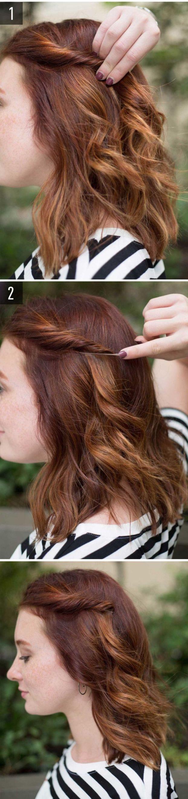 Как можно собрать волосы