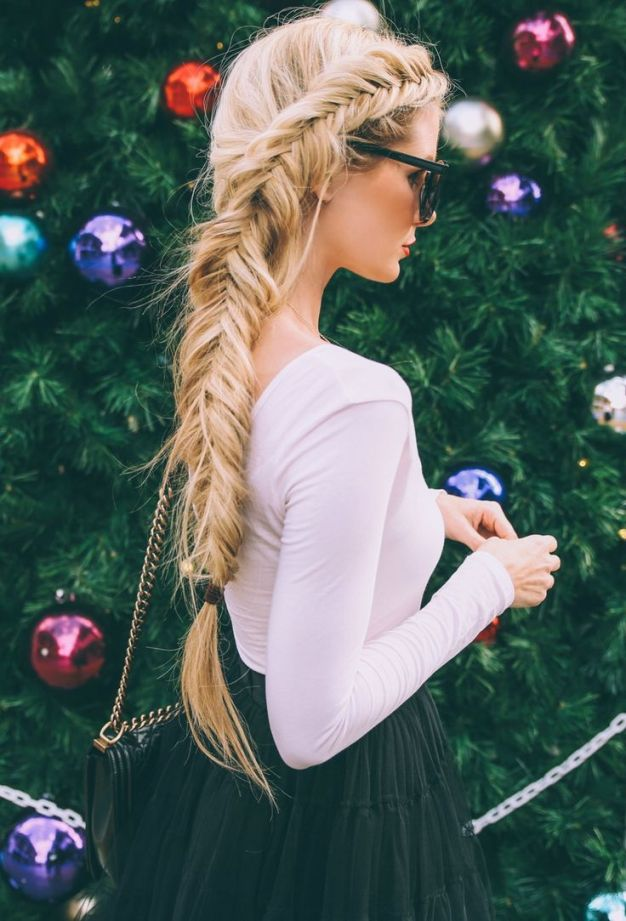 Fishtail-Braid-Ponytail-Hairstyle-2