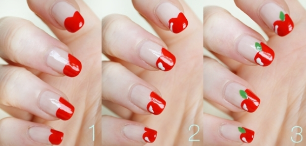 Apple-Nail-art