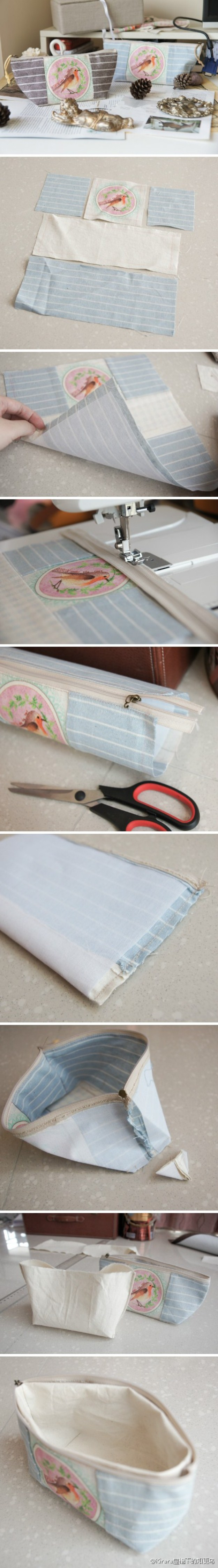 How-to-make-cosmetic-bag-step-by-step-DIY-tutorial-picture-instructions