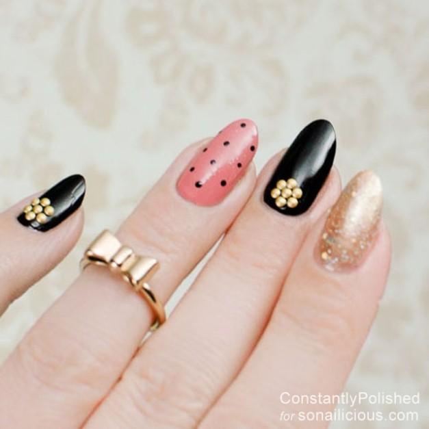 easy-manicure-ideas-polka-dot-2
