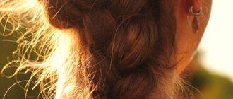 Прическа колосок: выбор и плетение