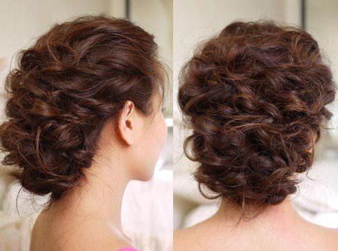 корзинка на кудрявые волосы