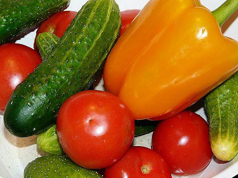 Овощи для третьей недели