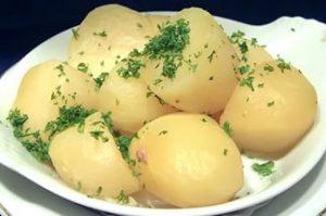 вареная картошка при диете