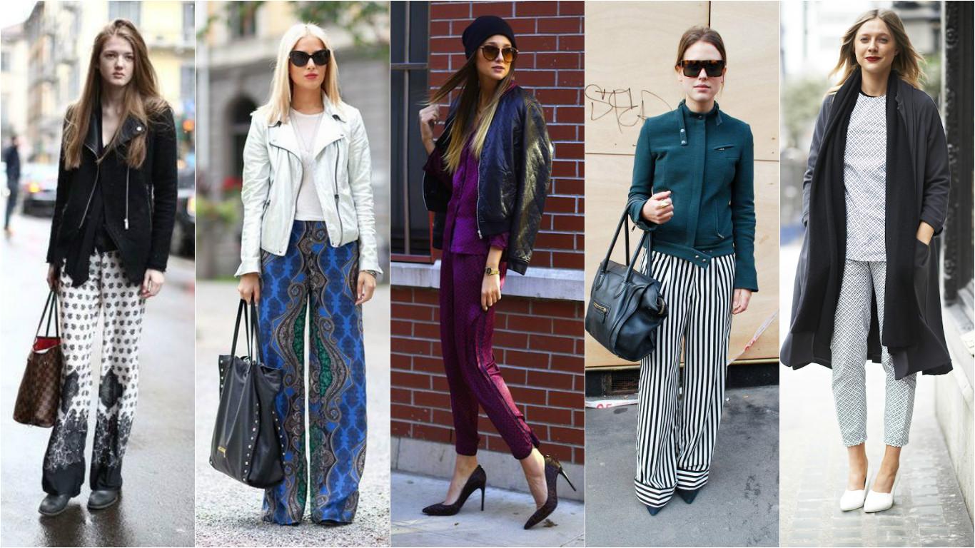 Модные тренды 2017 - брюки
