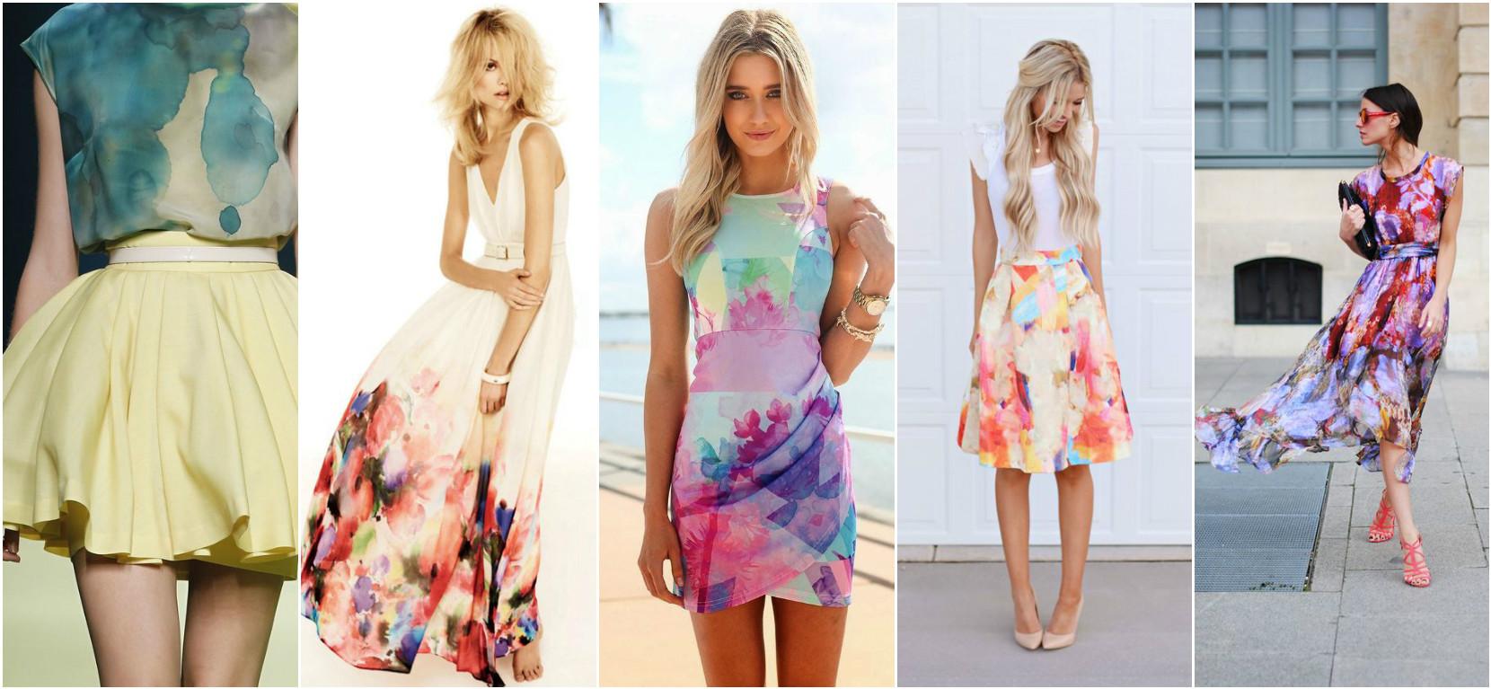 Модные тенденции 2017 - цветочный принт