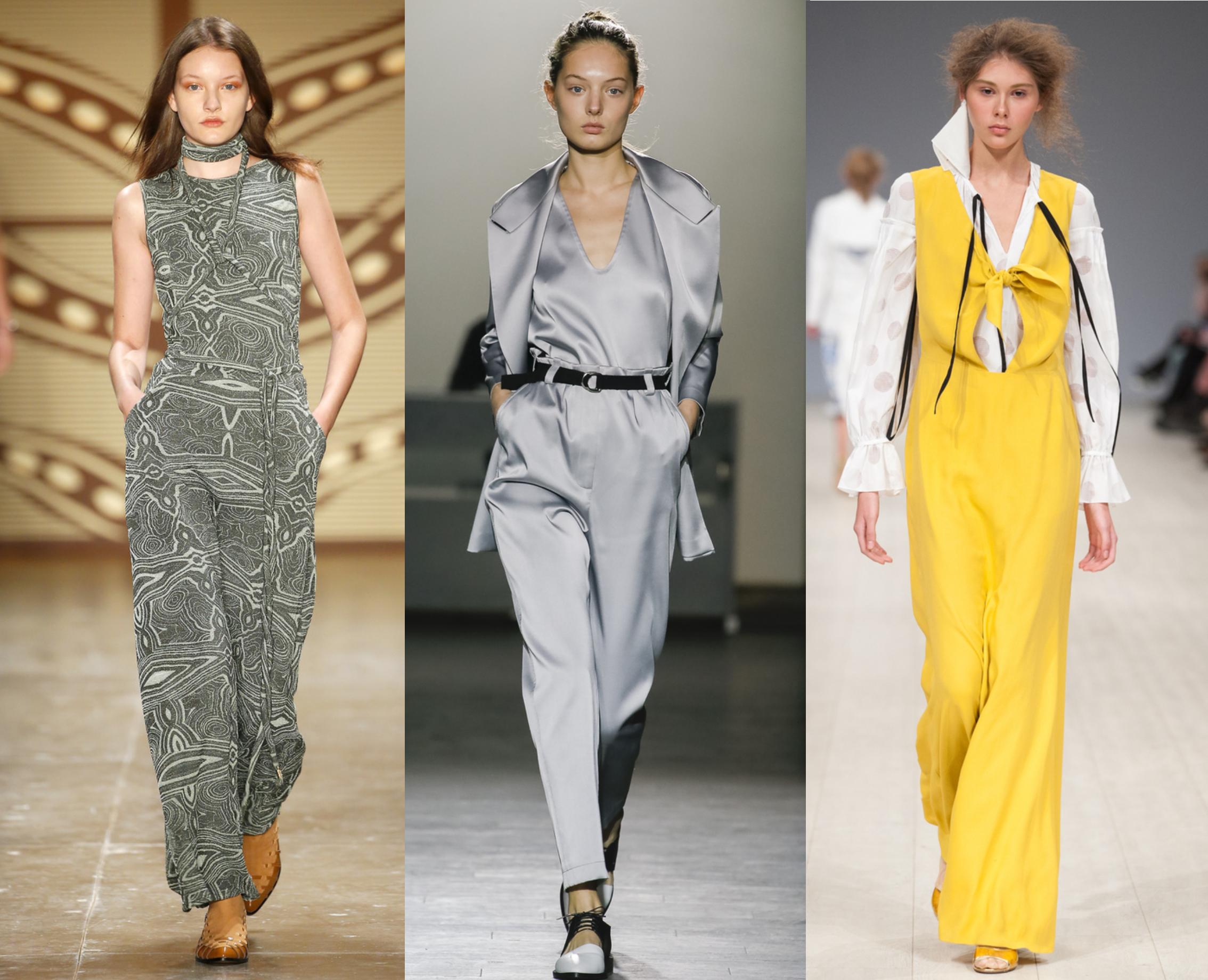 Модные тенденции 2017 комбинезоны