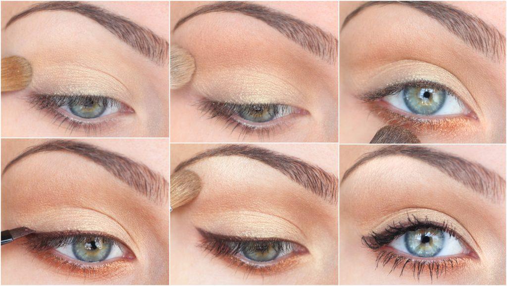 Быстрый макияж для зеленых глаз