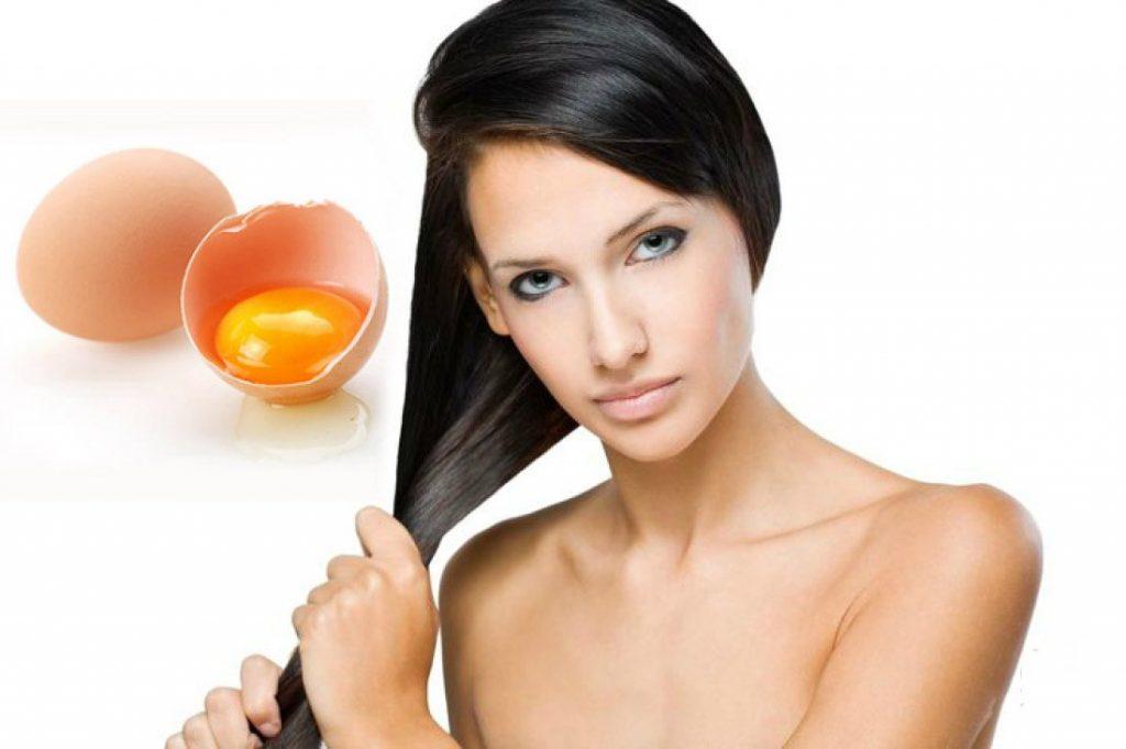 Яичная маска против жирных волос