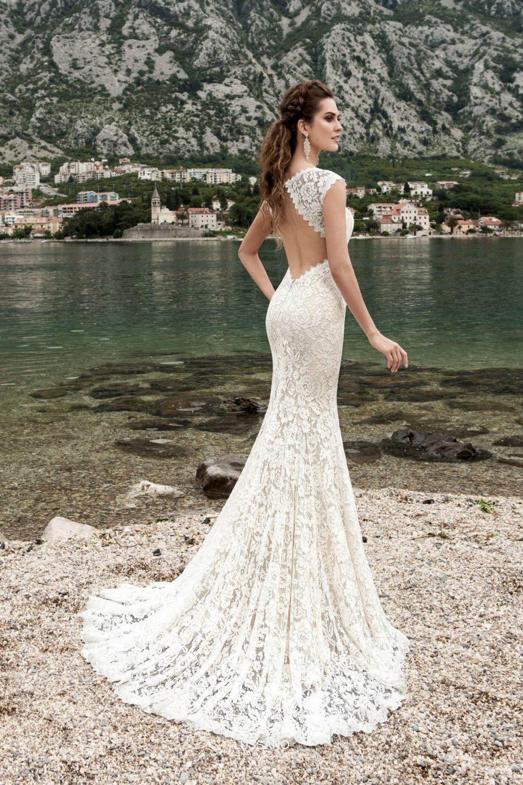 Свадебная мода - открытая спина