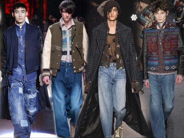 Джинсы в мужской моде 2017
