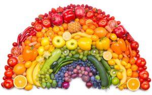 радуга овощей