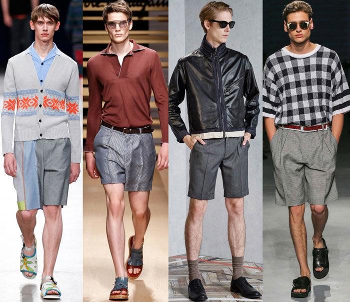 Шорты - мужская мода 2017