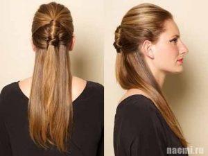 классический вариант причёски