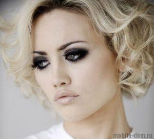 макияж на девушке