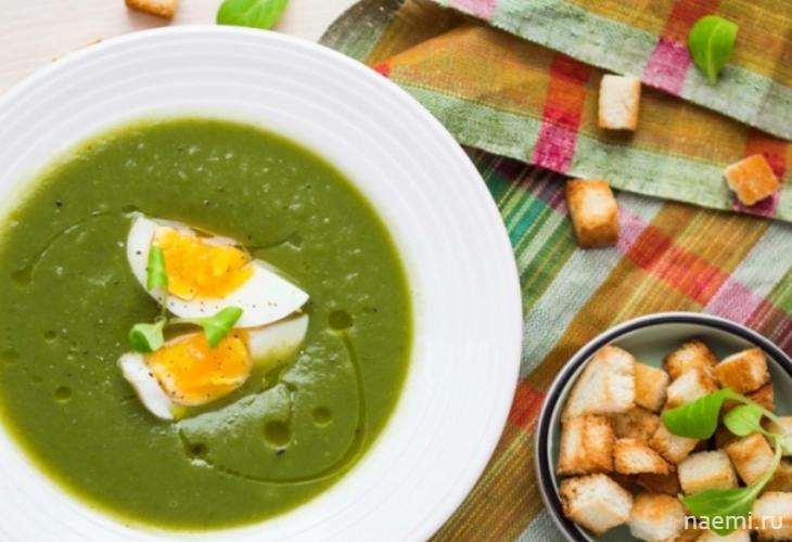 Супы из черемши