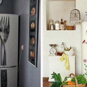 Как сделать холодильник красивым в домашних условиях