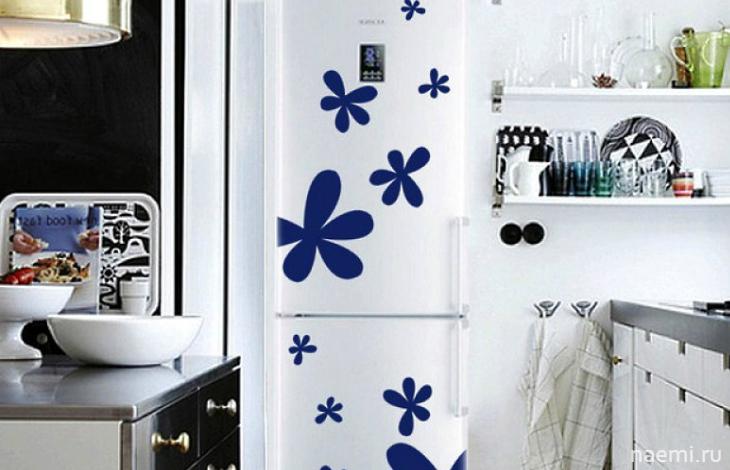 Простые решения проблем, как украсить холодильник самому