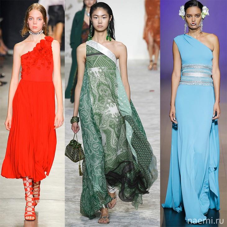 модные платья 2018