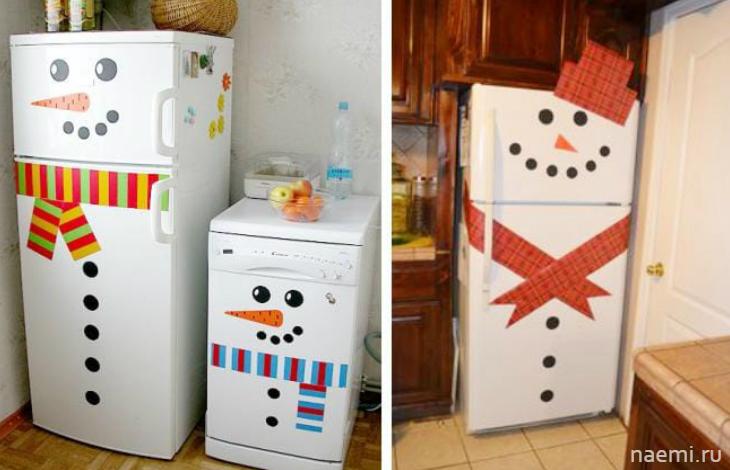 Оригинальные наклейки на холодильник