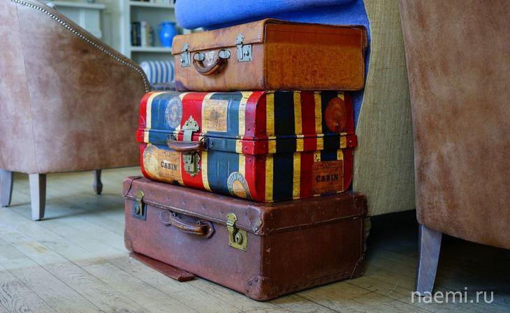 Ретро-чемодан